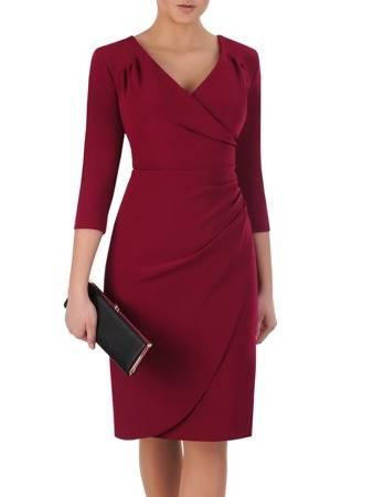 450199b3e7 Sukienka maskująca brzuch Apolonia II