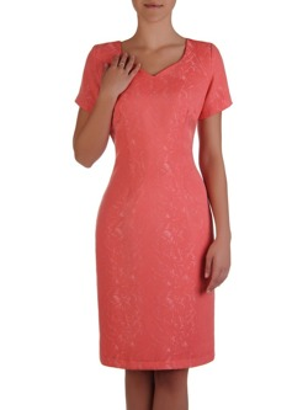 ede8a22053 Żakardowa sukienka Tycjana V