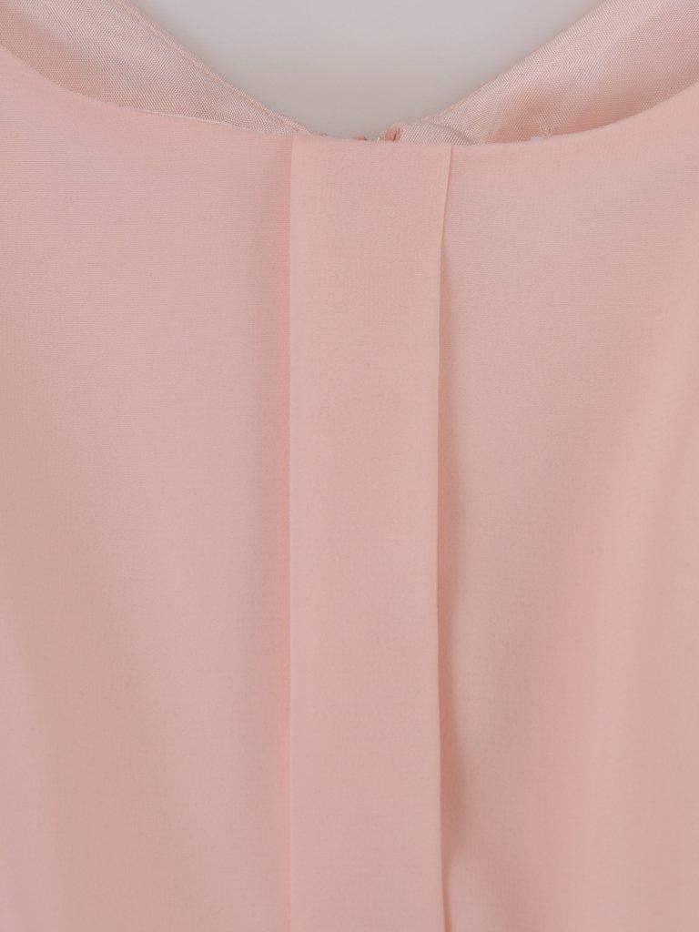 4cccbe0a79 Elegancka sukienka z koronki i szyfonu 14945